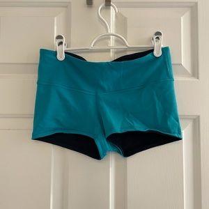 Lululemon reversible booty shorts - bundle 2/$40